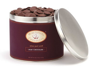 Chocolate pairs with Chardonnay (58%) - 4 lb. pail